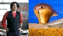 PLÅT18: Fasader av plåtspill från bilar och sydkoreansk sci-fi-arkitektur