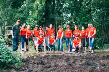 Recklinghäuser Kreditcenter Mitarbeiter  unterstützen Südstadt-Initiative