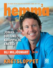 Hyresgästtidningen Hemma - Ett nytt nummer med tema Miljösmart skickas till våra hyresgäster idag!