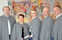 Högskolan i Halmstad firar akademisk högtid: installation av rektor och åtta nya professorer