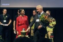 Storstockholms brandförsvar blev Årets Räddningstjänst