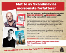 ÅPEN DØR: Møt to av Skandinavias morsomste forfattere!