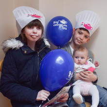 Stevenson House kicks off choc-tastic campaign in style