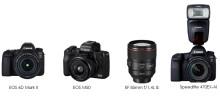 Canon har fått fyra prestigefyllda EISA-utmärkelser 2018