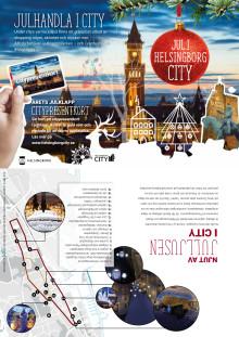 Julprogram för city