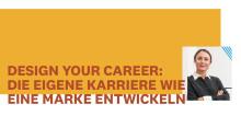 Design your Career: Die eigene Karriere wie eine Marke entwickeln