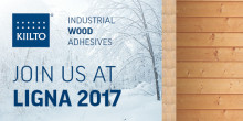 Olemme mukana Ligna 2017 -messuilla!