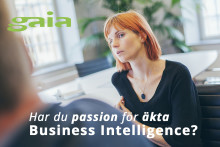 REKRYTERING: Har du passion för äkta Business Intelligence?