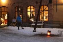 Karlssons Smycken på julmarknad i Stripa Gruvmiljö