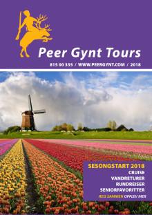 Peer Gynt Tours sesongstart katalog for 2018 lanseres nå!