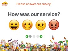 With emoji ™ - THE ICONIC BRAND you can create completely new types of questionnaires, it is only your imagination that sets the limits.