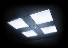 Biologiskt verksamt ljus för standardkontor – CELINE Quadro-satser