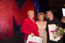 Suzanne Axell och Gunilla Hasselgren är Årets Mappie 2014