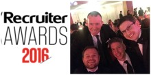 Finegreen at the Recruiter Awards 2016 tonight!