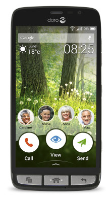 Äntligen en senior-smartphone med intuitivt gränssnitt