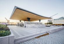 Skifferklädd entré nominerad till Världens byggnad