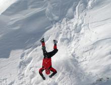 Risk för laviner i Alperna