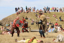 Trelleborgs vikingefestival var en stor succes