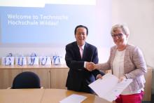 Neue China-Kooperation im Fachbereich Wirtschaft, Informatik, Recht