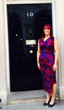 Council chief attends Downing Street Armed Forces celebration