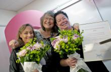 Brösthjältar i cancervården belönas