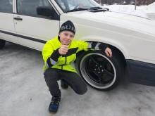 Efter nyhetsmorgon: Liam får hjulen av ABS Wheels