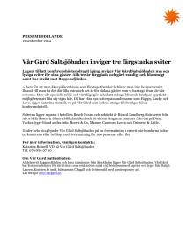 Vår Gård Saltsjöbaden inviger tre färgstarka sviter