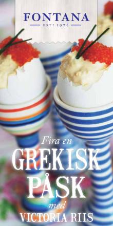 Fira en grekisk påsk med Victoria Riis
