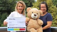 Pflanzen für WOGETRA-Mieter und Spenden für Bärenherz