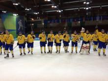 Sveriges studentidrottslandslag i ishockey slog Italien i Vinteruniversiaden