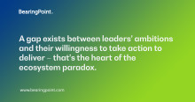 Challenge the ecosystem paradox to drive business model innovation and digital growth