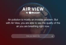 Ny tjänst synliggör vilka luftföroreningar vi andas in