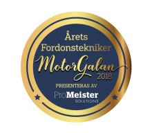 ProMeister Solutions presenterar Årets fordonstekniker