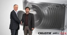 publitec erweitert seinen Vermietpark um 40 Christie Boxer 4K30