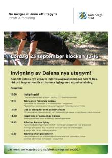 Inbjudan: Invigning av Dalens nya utegym