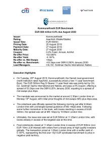 Press Points 11Y EUR Benchmark