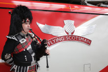 First Minister launches new Flying Scotsman train