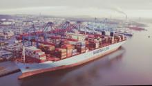 Trots rekordvecka på APM Terminals i Göteborg - fortfarande stor osäkerhet hos globala rederier