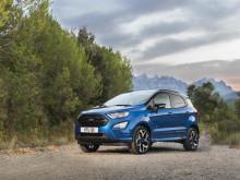 Új Ford EcoSport SUV: tovább javított minőség, technológia, kényelem és képességek