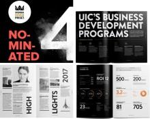 UICs årsberättelse nominerad till Svenska Designpriset
