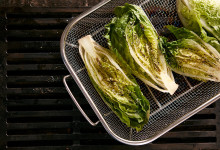 Grillkorg för grönsaker och skaldjur!