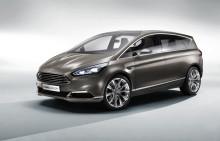Nya Ford S-MAX Concept vänder sig till en sportig kundkrets med elegant design och smart teknik
