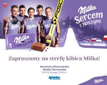Strefa Kibica Milka na stoku w Białce Tatrzańskiej – baw się z fioletową krową i bądź Sercem z Naszymi Skoczkami!