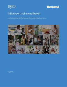 Undersökning - Influencers och samarbeten