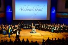 Ståtlig Akademisk högtid på Luleå tekniska universitet