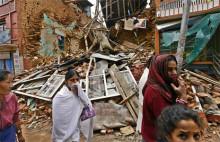 Nepal en dryg vecka efter skalvet