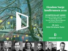 PRESSEINVITASJON: Eiendom Norge konferansen 2019 den 28. mars