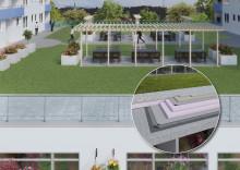 Förvandla innergården - från en tråkig plats till en fantastisk oas mitt i staden