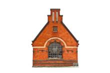 Konstbilder på byggnader i Lindesberg ger nya perspektiv