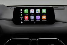 Mazda lanserar stöd för Apple CarPlay
